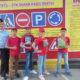 Юные инспекторы дорожного движения приняли участие в конкурсе-соревновании «Безопасное колесо–2018»